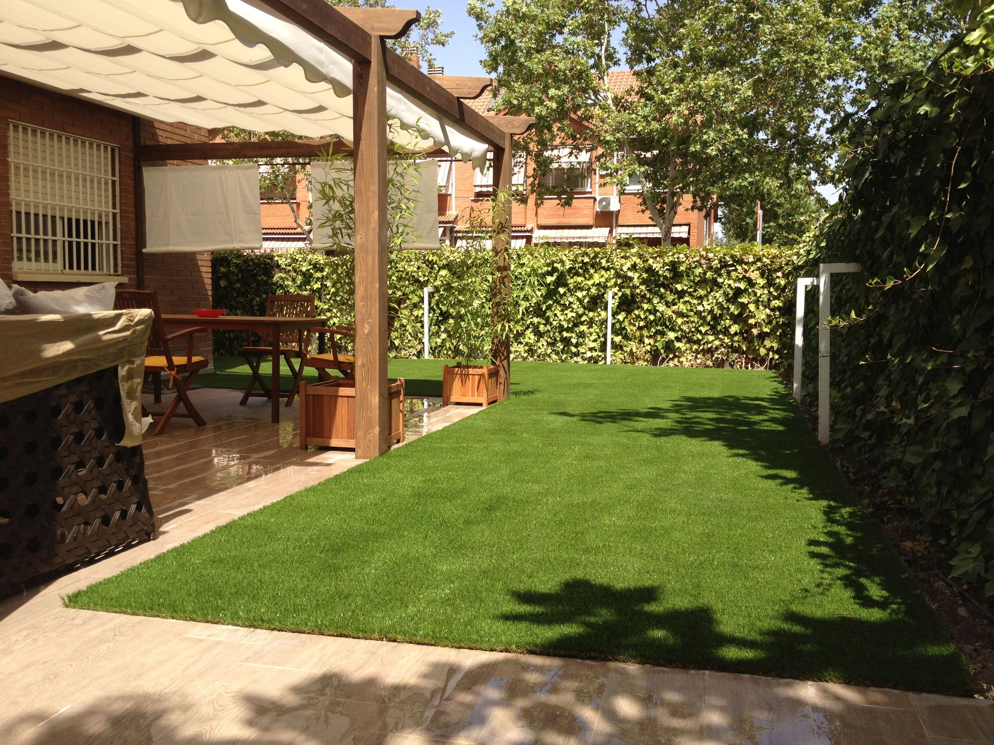 C sped artificial en terraza madrid cesped artificial madrid - Cesped artificial terraza ...