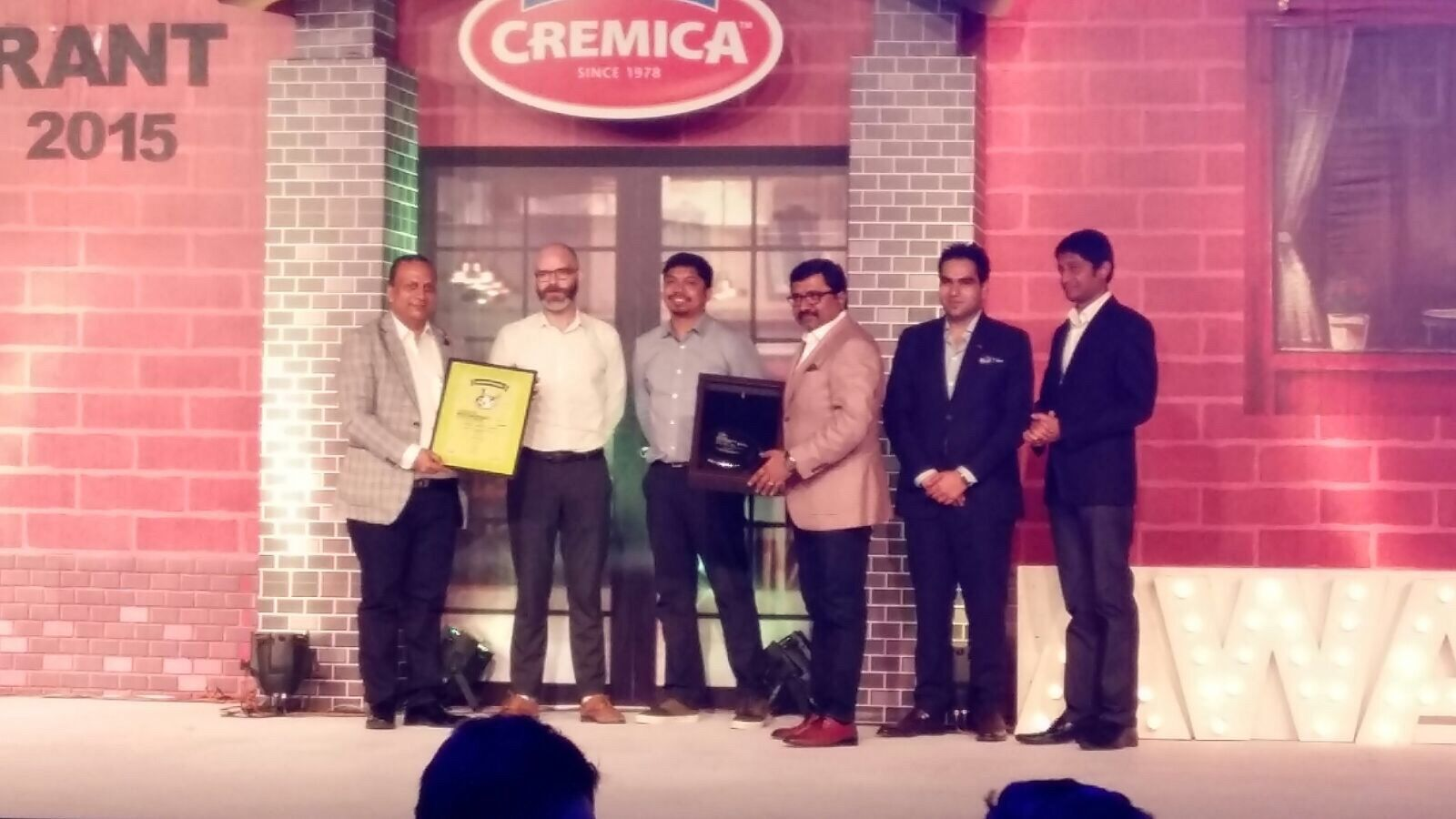 Feeling Awesome to share the participation glimpses of 5th Indian ‪#‎Restaurant‬ ‪#‎Congress‬ & ‪#‎Awards‬,2015, JW Marriott Aerocity,25th-26th August 2015. ‪#‎ONE‬ MEGA SHOW ‪#‎WON‬ AWARD AMONG 500+ Food Service Professionals,300+ #Restaurant ‪#‎Brands‬,50+ Global Experts & Innovators.