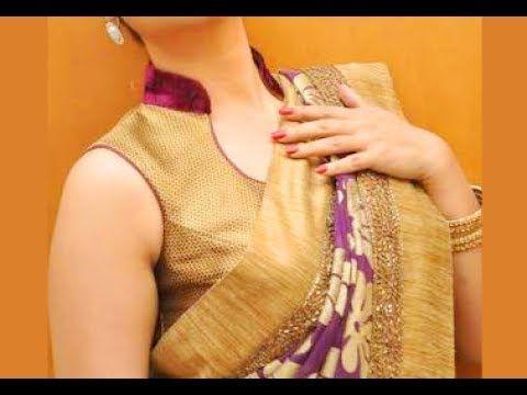 Models telugu youtube neck blouse in fit