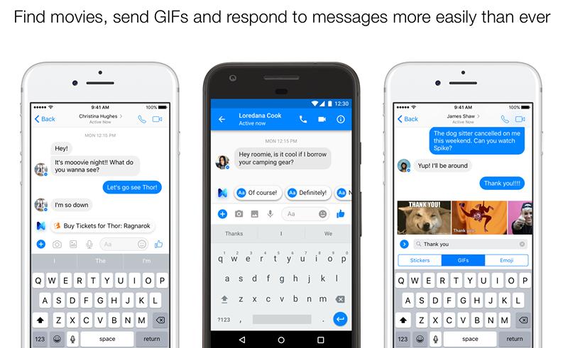 Facebook Messenger Lite Download for Android.