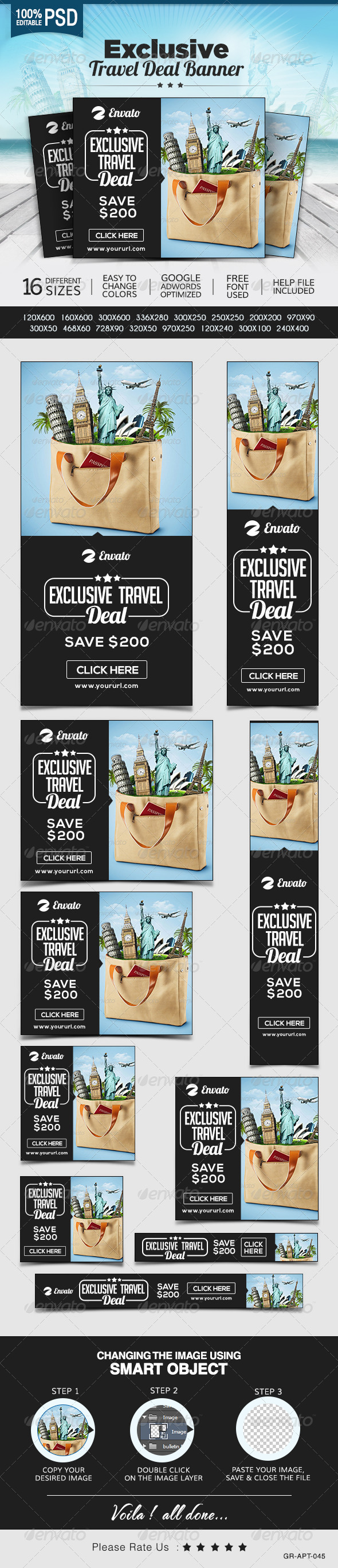 Travel Promotion Banners Company Us Banners