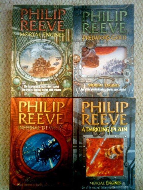 Mortal Engines Quartet Philip Reeve Dystopian Fiction Best Children Books Mortal Engines