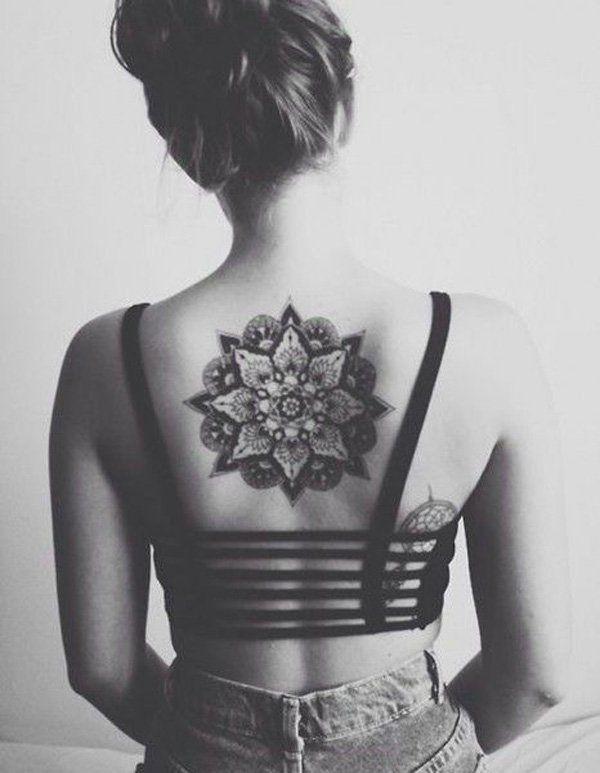 b5712d116 Mandala Back Tattoo for Girl - 30+ Intricate Mandala Tattoo Designs <3 <3