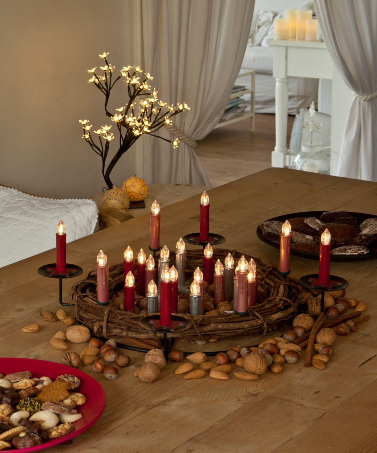 Holen Sie Sich Festliche Beleuchtung Nach Hause Und Das Beste
