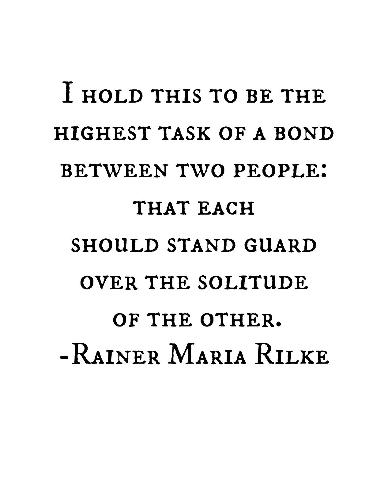 Image result for rilke love quotes