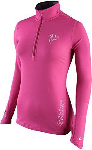 NIKE Nike Women S Atlanta Falcons Nfl Element Bca Dri-Fit Half-Zip Running  Top.  nike  cloth   3d8142d91