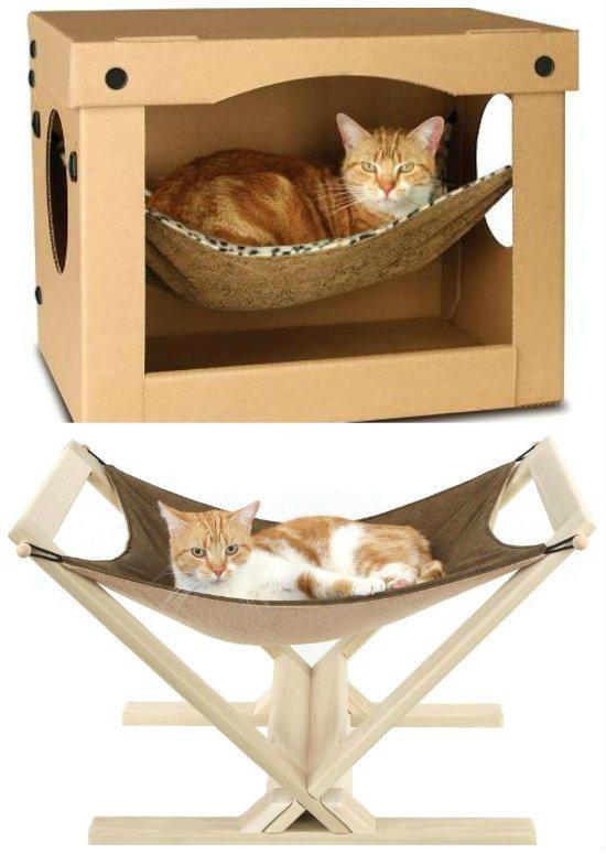Hamacas para gatos mis ni os pinterest hamacas gato y casetas para perros - Accesorios para hamacas ...