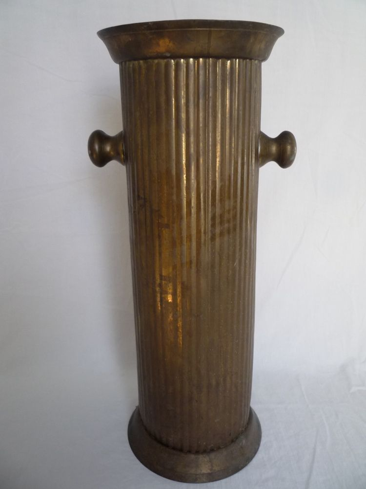 Vintage Brass Umbrella Stand Holder Brass, Vintage