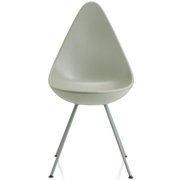 Fritz Hansen Stoel.Wat Drop Chair Stoel Ontwerper Fabrikant Arne Jacobsen