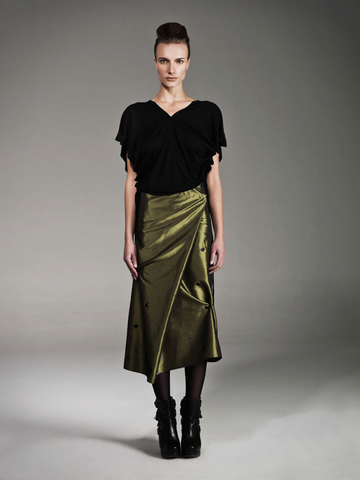 Parang ole skirt and top by Carla Rodriguez.