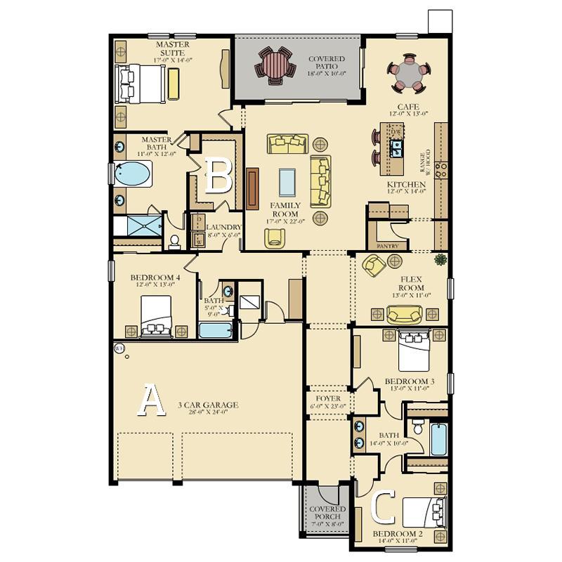 95 Floor Plans Ideas In 2021 Lennar Floor Plans New Homes For Sale