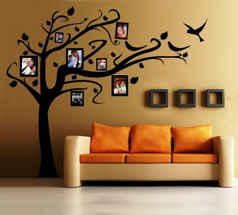 stencil per pareti albero foto | Casa nel 2018 | Pinterest | Stencil ...