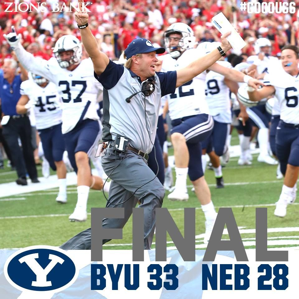 Hail second!!! | very last Byu Touchdown Mary! the in