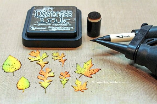 Tim Holtz Distress Ink Color POP: Ground Espresso! | Simon Says Stamp Blog