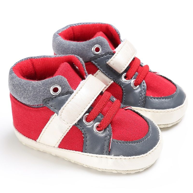 9091014bf94d Casual Baby Boys Sneakers Canvas First Walk Shoes Toddler Sport Shoes 0-18M   Affiliate