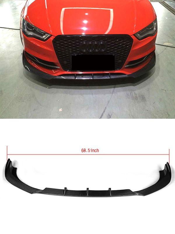 Auto Car Front Bumper Lip For Audi S3 Sedan 4 Door 2014 2015 2016 Audi Audi Accessories Car Front
