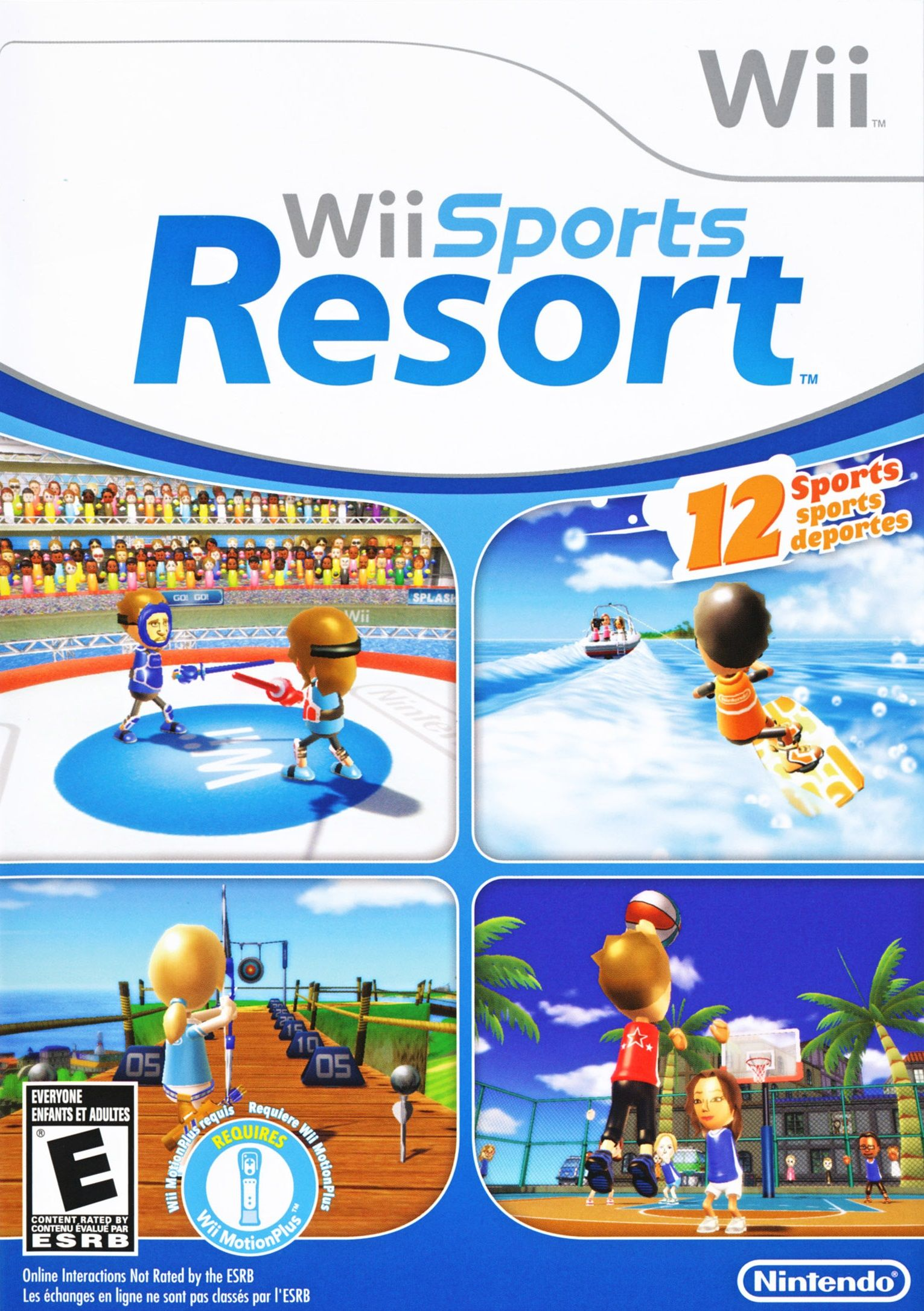 Wii Sports Resort Nintendo Wii Game Wii Sports Resort Wii Sports Wii Games