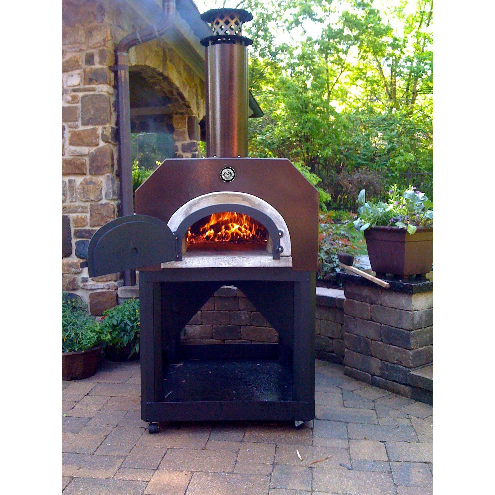 chicago brick oven 750 portable pizza oven copper portable pizza