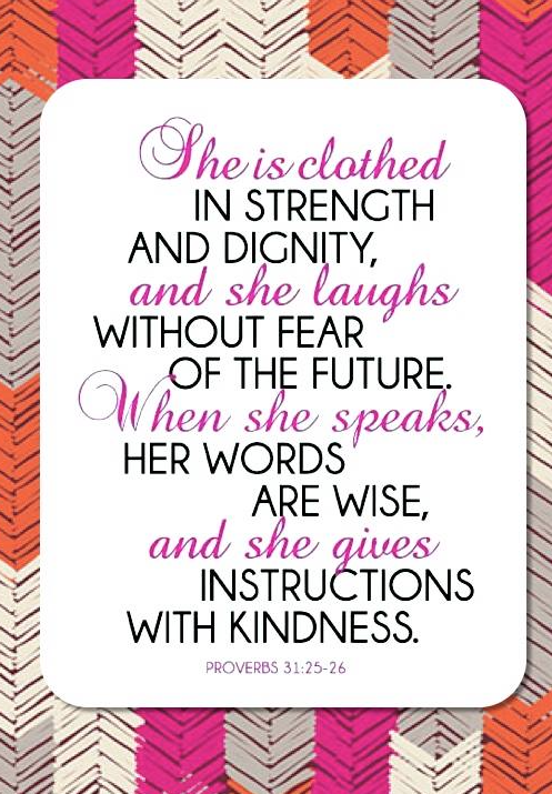 Did you know the name Thirty-One comes from proverbs 31?