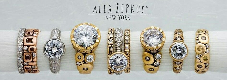 Alex Sepkus Ring Assortment 2014 Available at Donald Haack Diamonds & Fine Gems Charlotte, NC (704) 365-4400