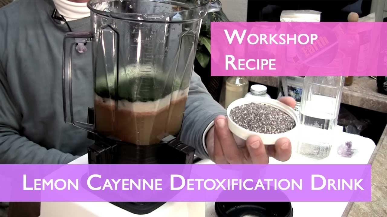 Lemon Cayenne Detoxification Drink Part 2 | Workshop | Dr. Robert Cassar - YouTube | eat to live ...