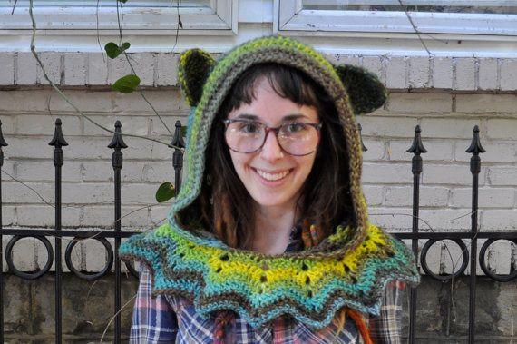 Crochet Pattern Grateful Dead Dancing Bear Hood Crochet