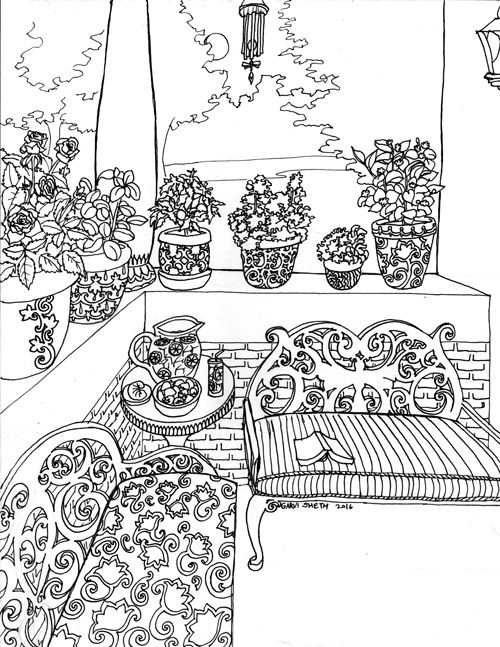 Coloring Book Pages on Behance | Coloring Pages | Pinterest ...