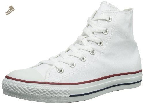 21306c1a74f Converse All Star Hi Optical White Canvas Trainers -UK 8 - Converse chucks  for women ( Amazon Partner-Link)