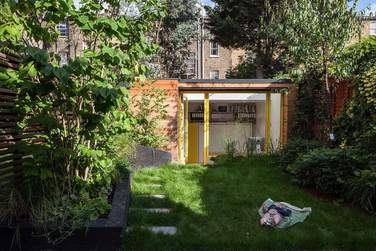 Bimby pièce supplémentaire bureau en fond de jardin david