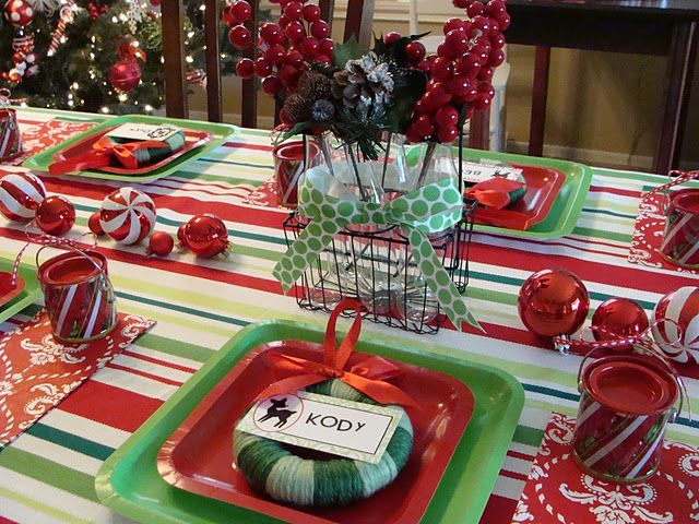 Christmas Dinner Party.Cute Ideas For Hosting A Christmas Dinner Party From Marci