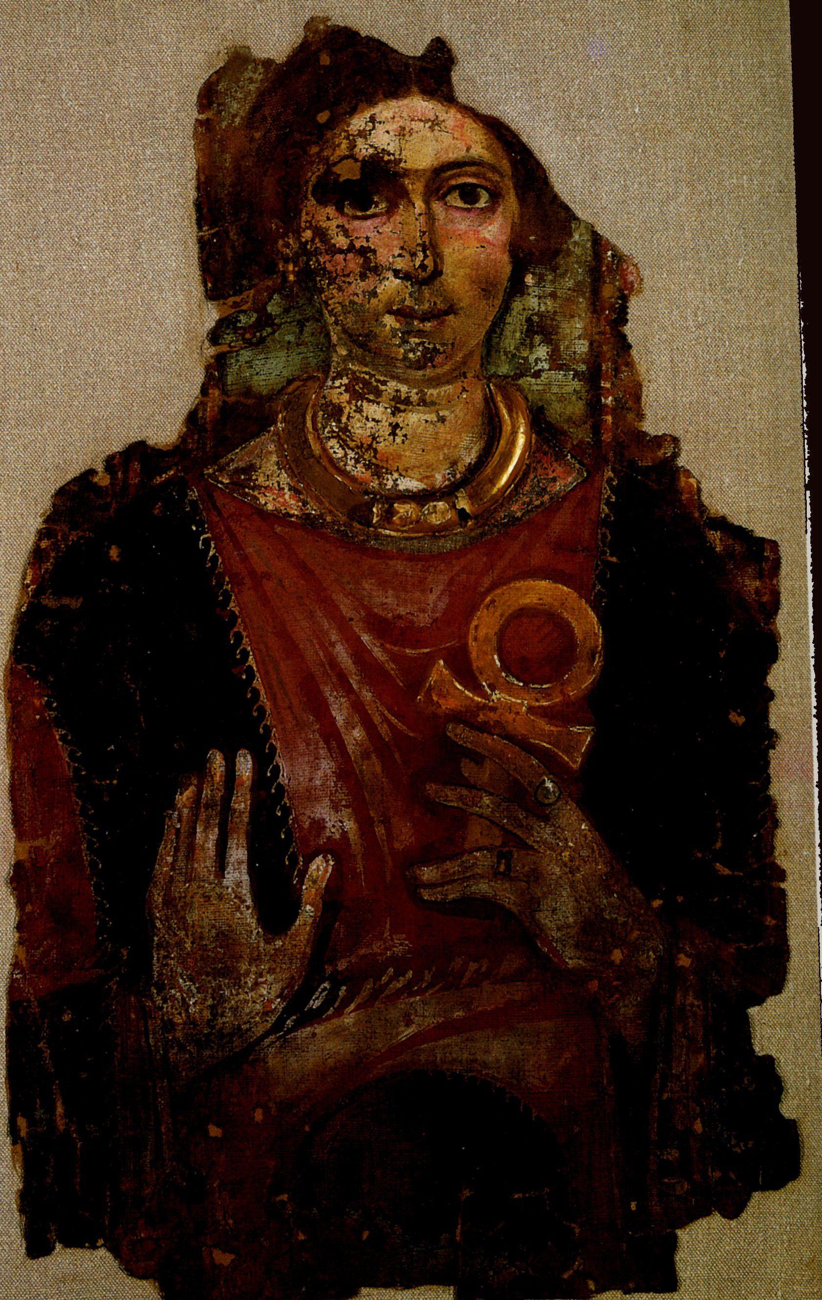 EGYPTE - Portraits du Fayoum - Arrête ton char   Croix ...