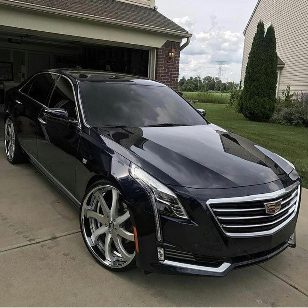 Ct6 On 24 Forgiato Wheels Whipgenius Pimped Out Cars Best Luxury Cars Sports Cars Luxury