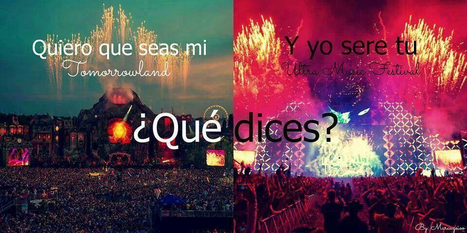Tomorrowland Te Quiero Fotos Tumblr Y Decir No