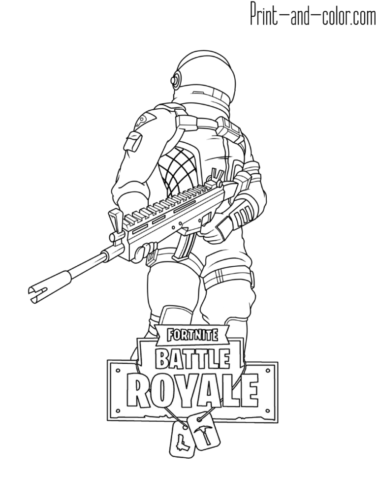 Fortnite Coloring Pages Coloriage Dessin Coloriage A Imprimer