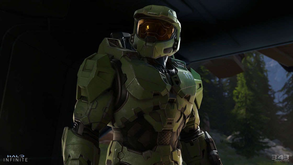 Halo Infinite Dev Talks Graphics Loot Boxes And Why There May Be No Multiplayer Beta 343 Industries Halo Master Chief