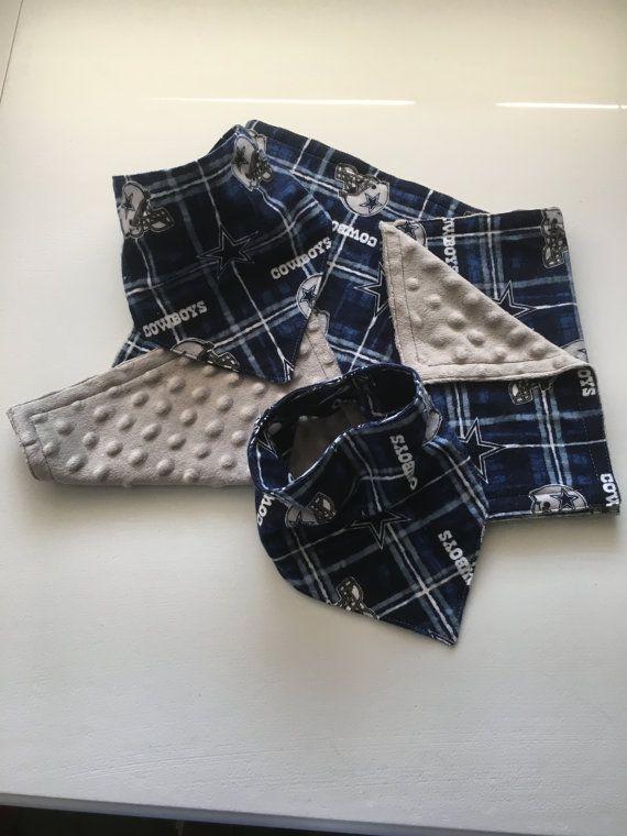 Dallas Cowboy baby bibs and burp cloths by LittleCreationsCo