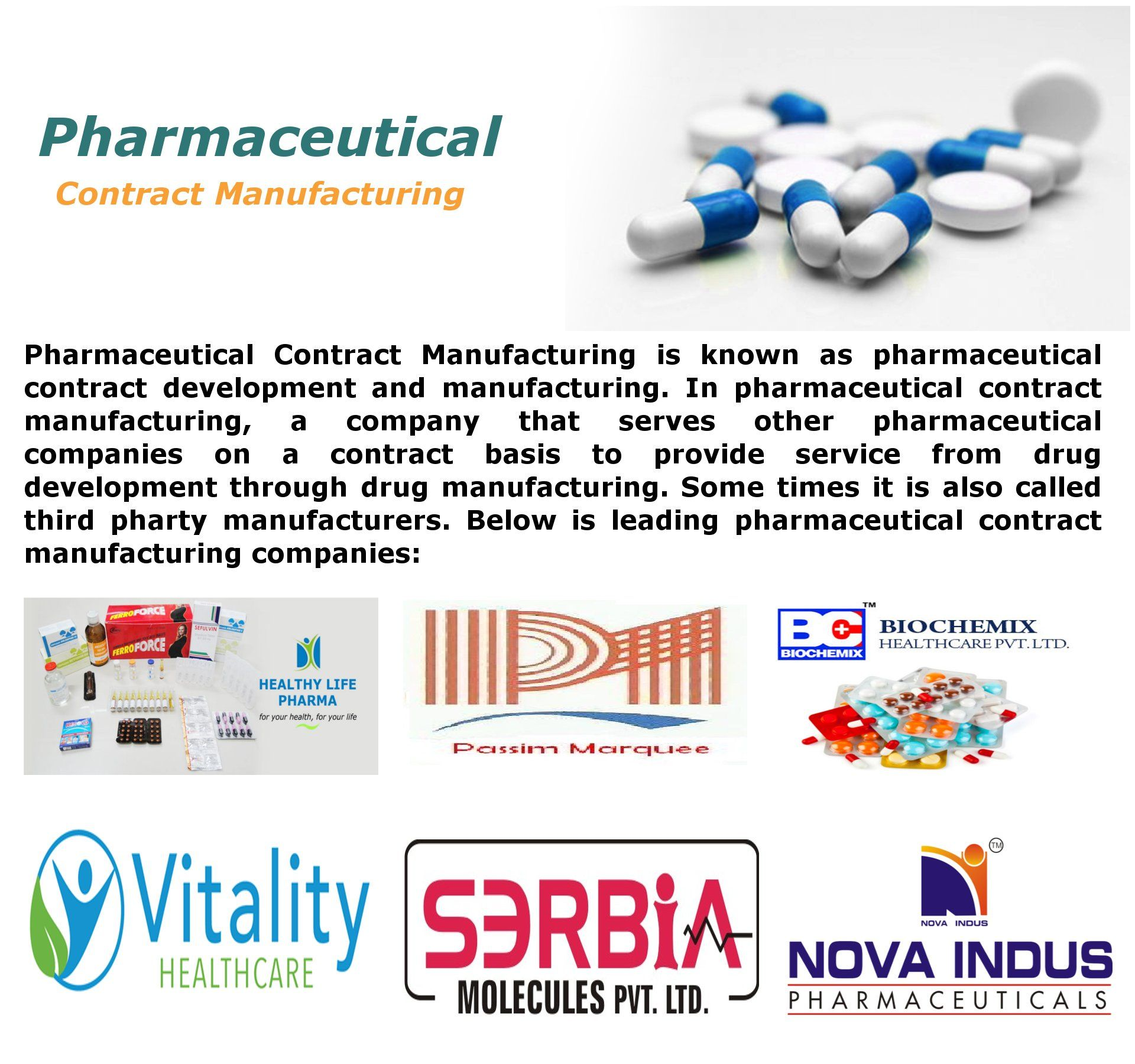 Visit Here For Pharmaceutical Contract Manufacturing Services And