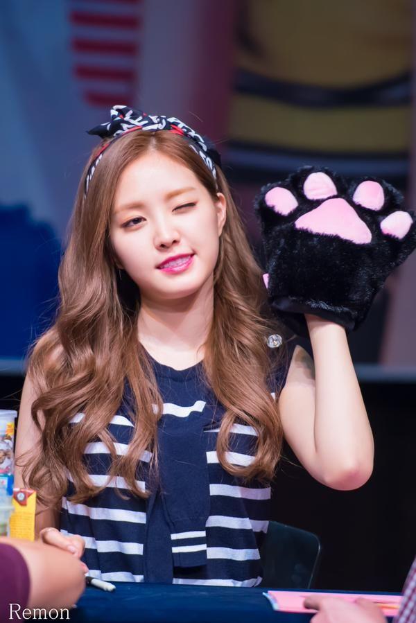 Apink Naeun at Gangnam Fansign Even