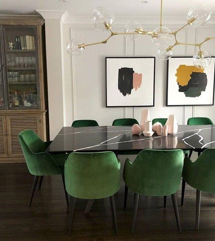 Dining Room Minimalist Dining Room Luxury Dining Room Green Dining Room