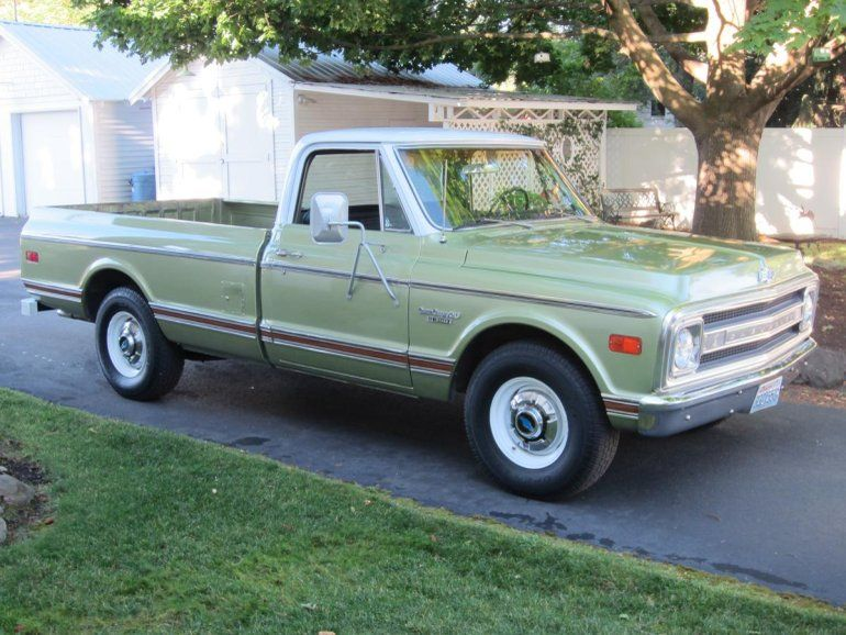 1969 Chevrolet C20 400 Automatic 350v8 87 000 Original