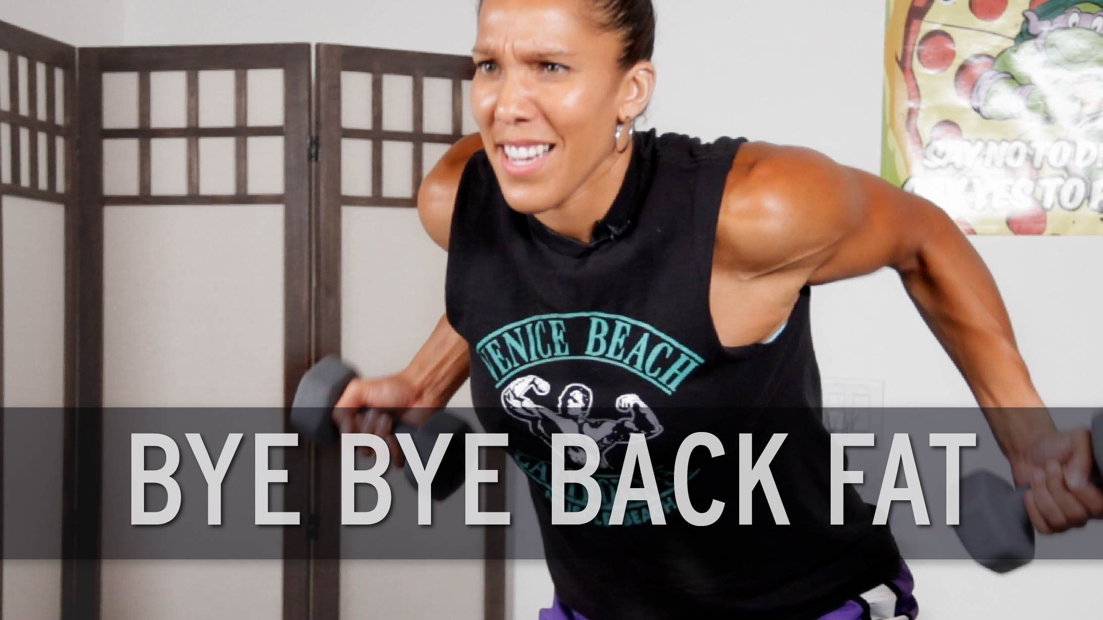 Another great video from xhit daily you all should subscribe to on todays episode of xhit fitness trainer cynthia dallas shows you how to get rid of that pesky back fat ccuart Choice Image