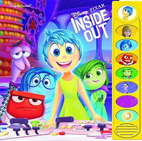 Disney Pixar Inside Out Movie Books For Kids Book Activities Disney Inside Out Disney Books