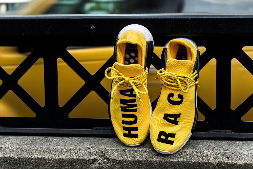 adidas x Pharrell Williams NMD Addidas shoes, Gym shoes