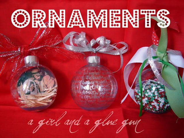 A few good ideas Holiday-Christmas Ornament Ideas Pinterest