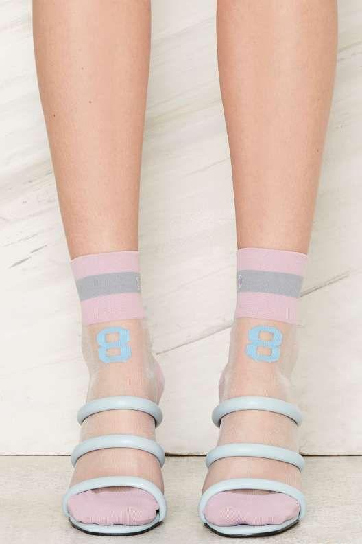 8ed5fd39a Rihanna x Stance 88 Sheer Crew Socks - What s New