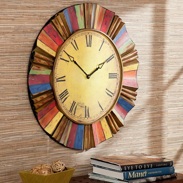 Vibrant Wall Clock - JCPenney   Ideas for the House   Pinterest ...