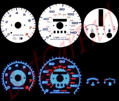 93 97 Mazda Mx6 Mx 6 626 At Indiglo Gauges Blue Gauge By High Performance Parts 32 00 Item Condition Brand New The Colore Performance Parts Mazda Mazda Mx