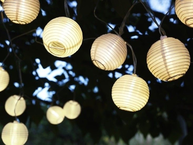 Ikea Solar Outdoor Lighting String Chain Gardenista
