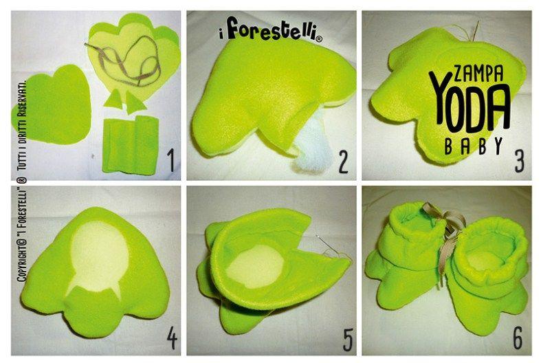 creazione del Costume di Yoda per bambini