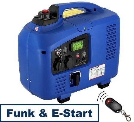 Denqbar Inverter Stromerzeuger Mit 2 2 Kw E Start Und Funk Komfort Und Leistung In Perfektion Musikanlage Wohnmobil Campingtoilette